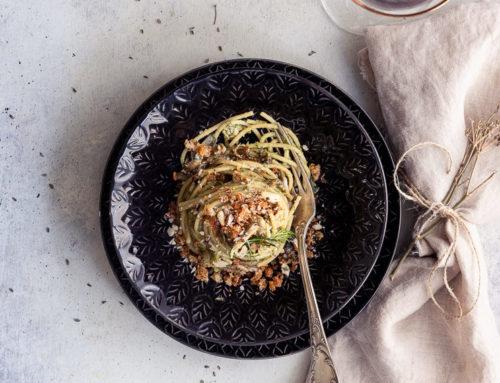 Spaghetti broccoli e sarde