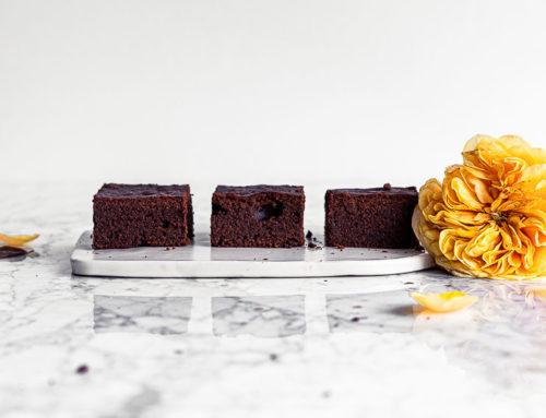 Brownie al cioccolato e alla crema di mandorle